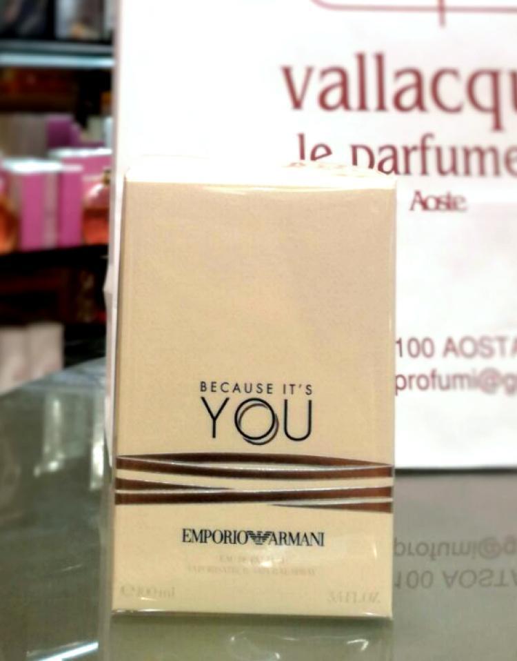You Profumo Because Armani 100 Donna MlEmporio Profumi It's ulFJ5Tc3K1
