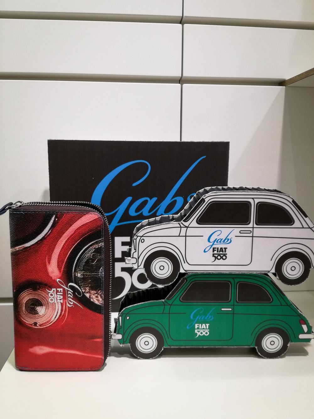 3d74ffe651 PORTAFOGLIO 17 FIAT 500 FANALI GABS - Portafogli donna - Zanetta ...