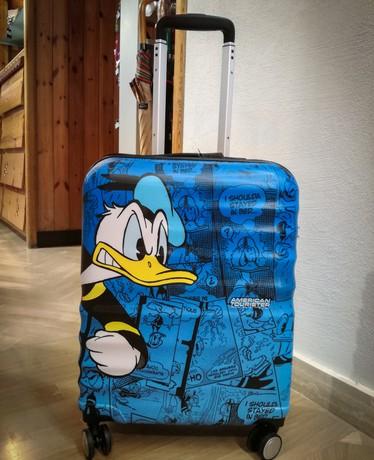 Valigia paperino american tourister valigie e set per - Valigia porta vinili ...