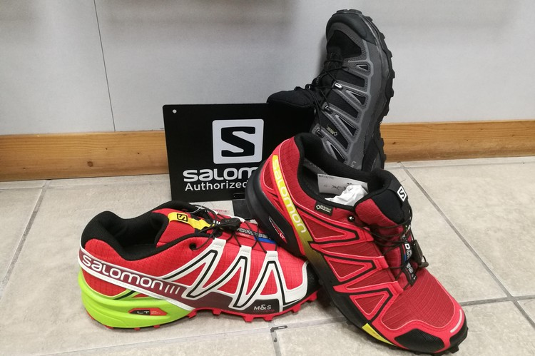 Scarpe trail, trekking, outdoor Salomon sconto da 26 a 36%