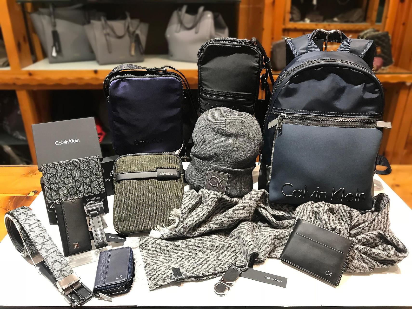 sale retailer 4067b c67e5 Accessori uomo Calvin Klein nelle vetrine di Zanetta Porta ...