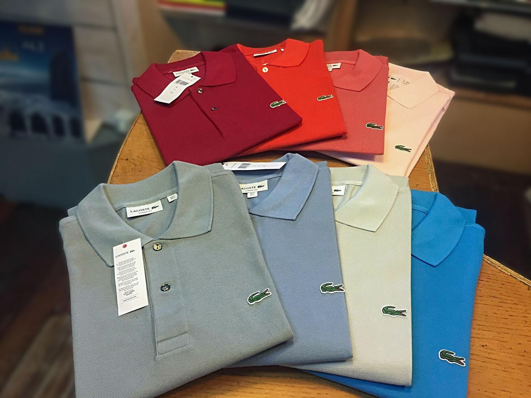 scegli genuino nuove varietà eccezionale gamma di stili Polo lacoste nelle vetrine di New Sport - Torino