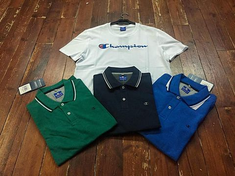 Polo e t-shirt Champion