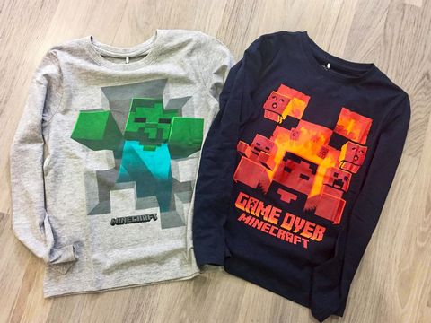 Maglie Name it Minecraft