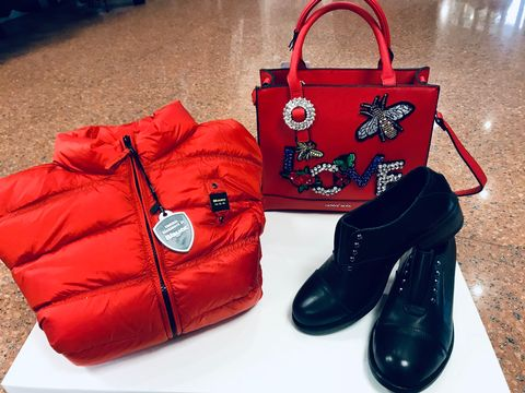 Outfit Rosso autunno/inverno