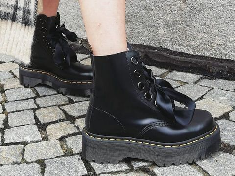Romantic Grunge! anfibi dr martens!