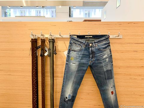 Jeans Don the Fuller e cinta Orciani: che coppia!